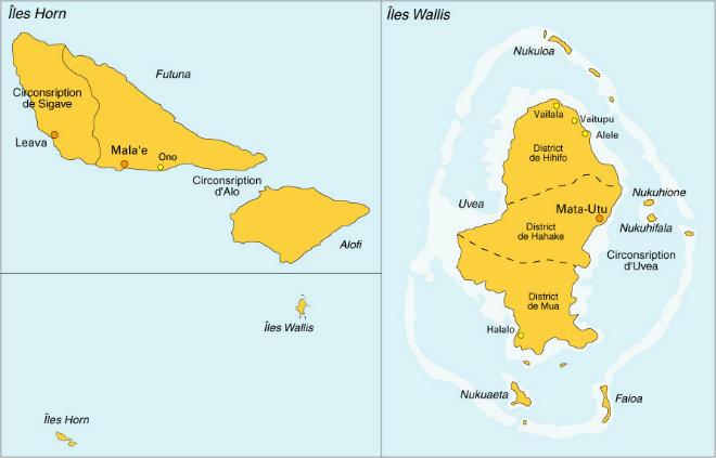 The Project In WallisFutuna Initiative Des Territoires Pour - Wallis and futuna map